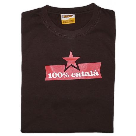 Samarreta 100% Català -ÚLTIMES UNITATS-