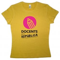 Samarreta noia Docents per la República