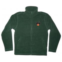 Jaqueta polar verda Drac PPCC