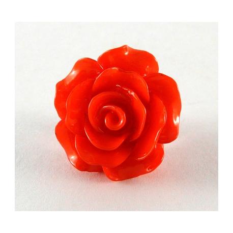 Pin Rosa vermella