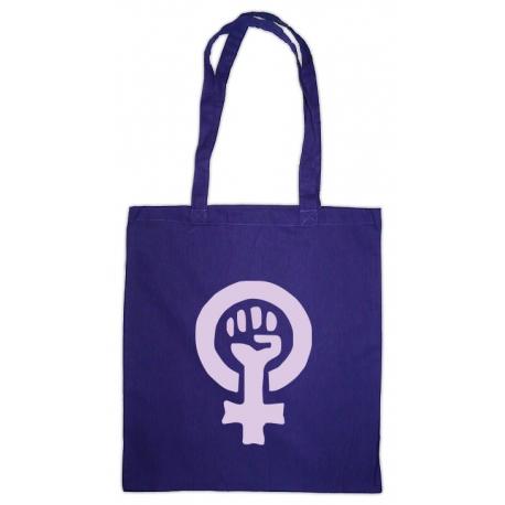 Bossa lila símbol feminista