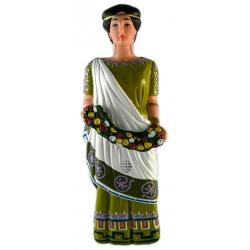 Figura de goma de la geganta Cleòpatra de Lleida
