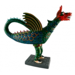 Figura de goma reproducció del Drac de la Geltrú