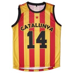 Samarreta bàsquet Catalunya 14