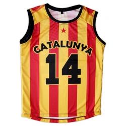 Samarreta infantil bàsquet Catalunya 14