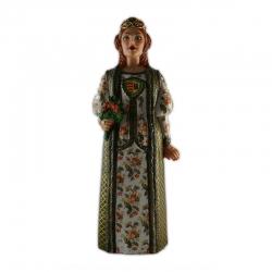 Figura de goma de la Geganta vella de Sant Pere de Ribes