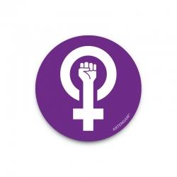 Imant flexible símbol feminisme