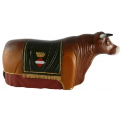 Figura de goma Bou tradicional de Valls