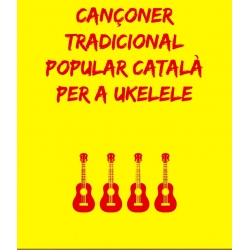 Llibre Cançoner per a ukelele - Cançons catalanes