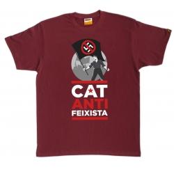 Samarreta Catalunya Antifeixista bandera