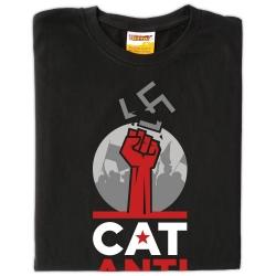 Samarreta Catalunya Antifeixista símbol trencat