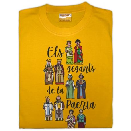 Samarreta infantil Gegants de Lleida