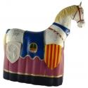 Figura de goma del Cavall dels Nebot