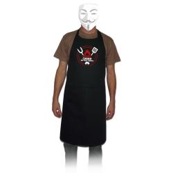 Davantal Perill cuiner en pràctiques