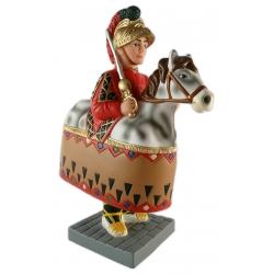 Figura de goma del cavallet d'Olot