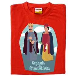Samarreta infantil gegants de Granollers