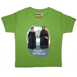 Samarreta infantil gegants de Montblanc