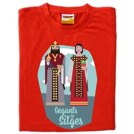 Samarreta infantil gegants de Sitges