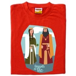 Samarreta infantil gegants de Vic