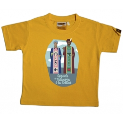 Samarreta infantil gegants de Vilanova i la Geltrú