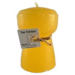 Tap solidari - Tap mitjà groc