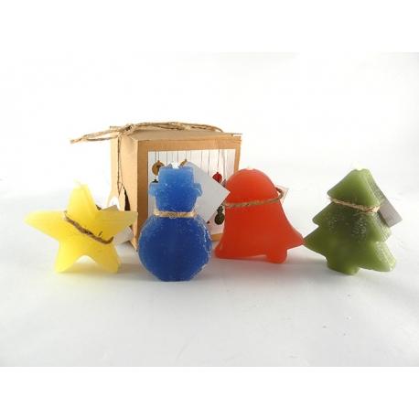 Tap solidari - caixa 4 espelmes nadal