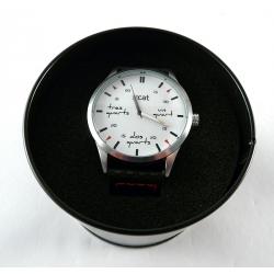 Rellotge Home Acer i Pell Quart i Cinc QC01