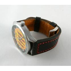 Rellotge Home Acer i Pell Senyera SNY01