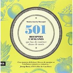 Llibre 501 receptes de Catalunya que has de conèixer abans de morir
