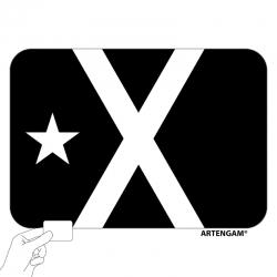 Imant bandera negra
