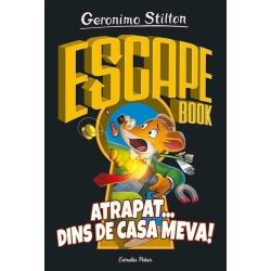 Llibre Escape Book. Atrapat...dins de casa meva! Geronimo Stilton