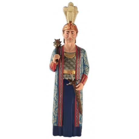 Figura de goma del gegant de Sant Jaume de Barcelona