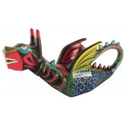 Figura de goma del Drac tigre de Vilanova i la Geltrú