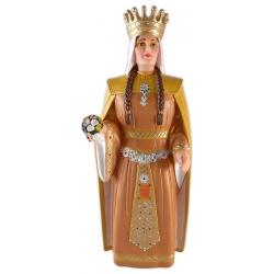 Figura de goma de la reina Elionor de Lleida