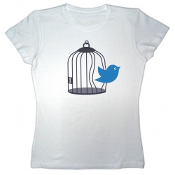 Samarreta NOIA Llibertat ocell