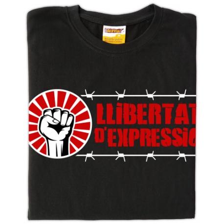 Samarreta Llibertat d'expressió
