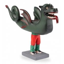 Figura de goma del Drac de Terrassa
