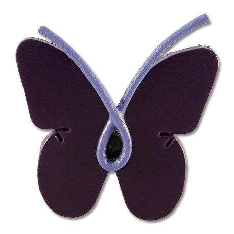 Pin feminista papallona lila