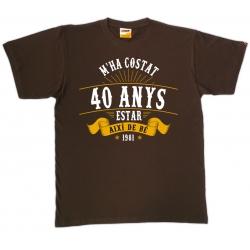 Samarreta 40 anys model 01