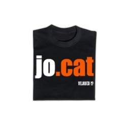 Samarreta: JO.CAT negra