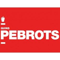 Samarreta: Quins pebrots! -ÚLTIMES UNITATS-