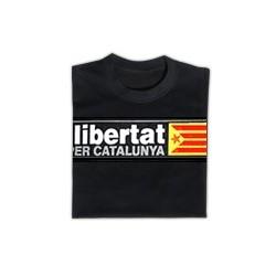Samarreta: Llibertat per Catalunya negra