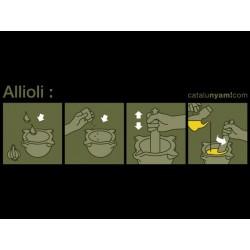 Samarreta: Allioli