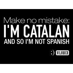 Samarreta: I'm Catalan negra