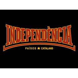 Samarreta Independència estil Lonsdale negra