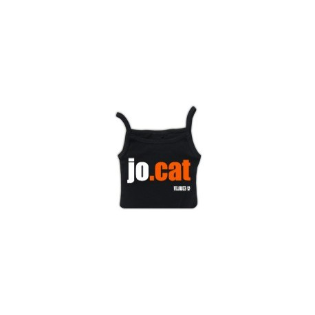 Samarreta tirants: JO.CAT negra