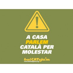 Samarreta noia Català per molestar