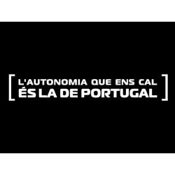 Samarreta tirants L'autonomia de Portugal