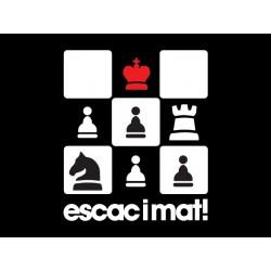 Samarreta noia Escac i mat al rei!