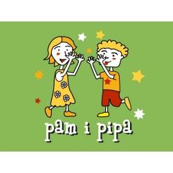 Samarreta tirants Pam i Pipa infantil